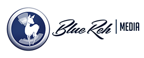 BlueReh Media Retina Logo