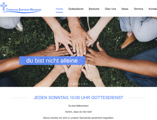 Homepage – Christuszentrum Neuwied