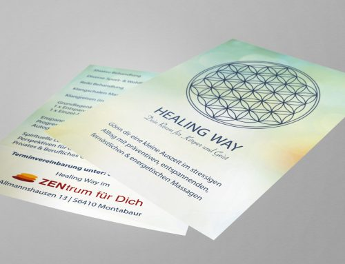 Flyerdesign – Healing Way